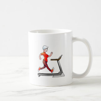 Geezers Go For It Woman Treadmill Mug