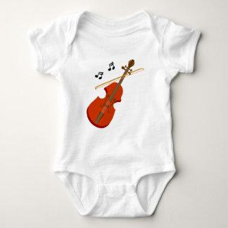 Geige Violine violin Baby Bodysuit