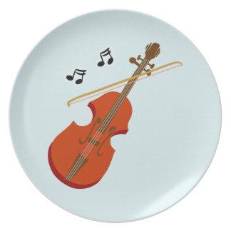 Geige Violine violin Plate