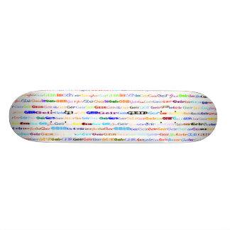 Geir Text Design II Skateboard