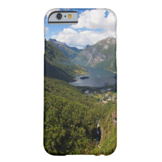 Geiranger Fjord landscape, Norway Barely There iPhone 6 Case