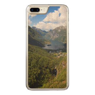 Geiranger Fjord landscape, Norway Carved iPhone 7 Plus Case