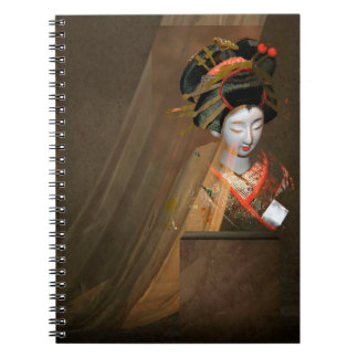 GEISHA 3 SPIRAL NOTEBOOK