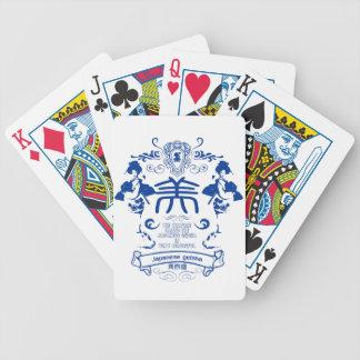 Geisha Bicycle Playing Cards