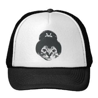 Geisha Cat Mesh Hats