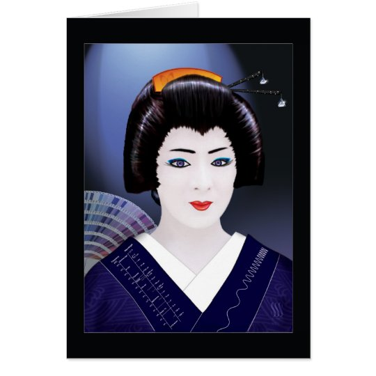 Geisha Colour Card