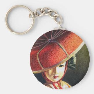 Geisha Doll Keychain