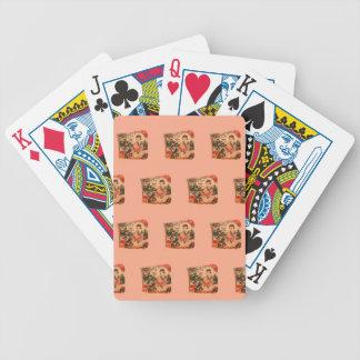 Geisha Girl Bicycle Playing Cards