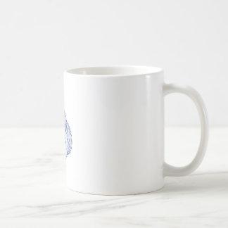 Geisha Girl Head Drawing Coffee Mug