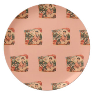 Geisha Girl Plate