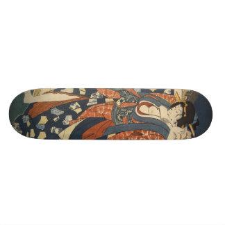 Geisha girl skateboard