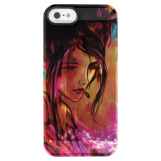 Geisha Iphone marries Clear iPhone SE/5/5s Case