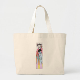 Geisha. Jumbo Tote Bag