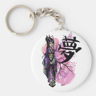 Geisha Key Ring