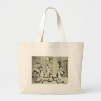 Geisha Large Tote Bag