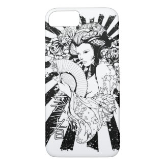 Geisha Love Glossy Phone Case