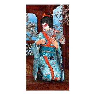 Geisha Photo Card