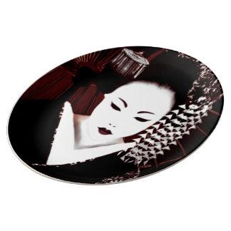 Geisha Plate