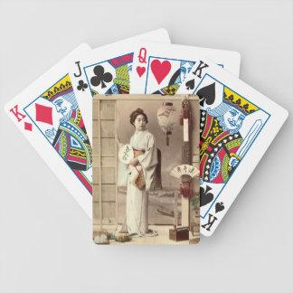 Geisha Poker Deck