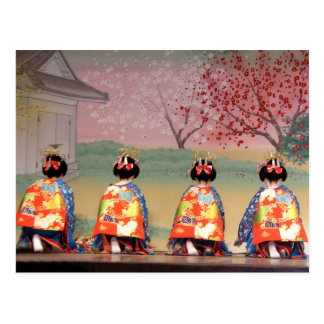 Geisha Row Postcard