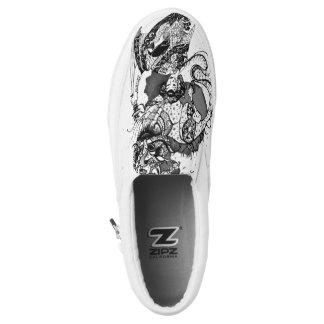 Geisha samurai Slip-On shoes