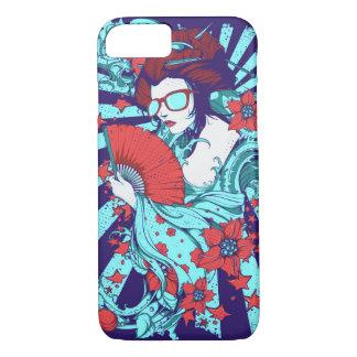 Geisha Sunglasses Glossy Phone Case