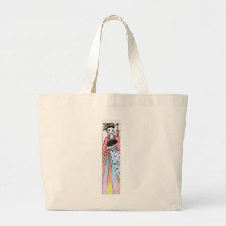 Geisha. Canvas Bags