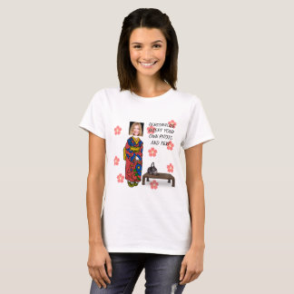 Geisha TShirt - Personalize Photo & Text