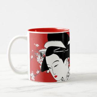 Geisha: Two-Tone Mug
