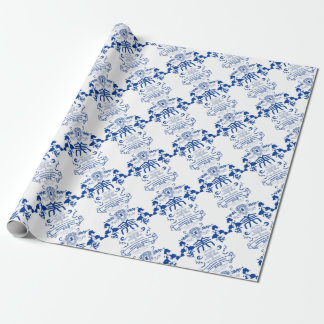 Geisha Wrapping Paper