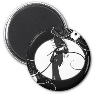 GeishaLight 6 Cm Round Magnet