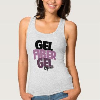 Gel, Fiber, Gel, Repeat - 3D Fiber Lashes Singlet