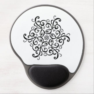 Gel Mouse Pad-Black and White Design Gel Mouse Pad