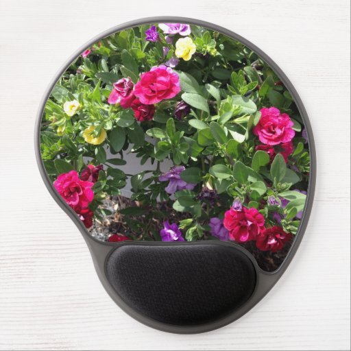 Gel mouse pad roses