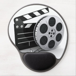Gel Mousepad - Film Reel & Movie Clapper