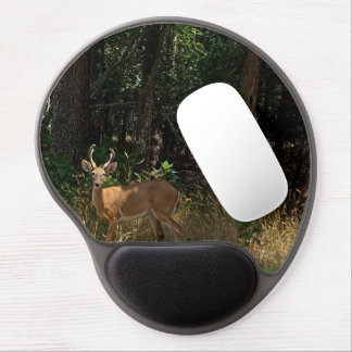"Gel Mousepad ""White Tail Deer"""