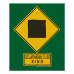 Gelatinous Cube XING Posters