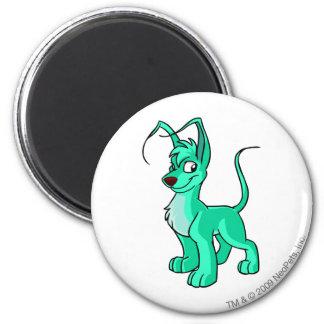 Gelert Green 6 Cm Round Magnet