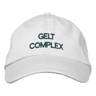 GELT COMPLEX FUNNY JEWISH HAT EMBROIDERED BASEBALL CAP