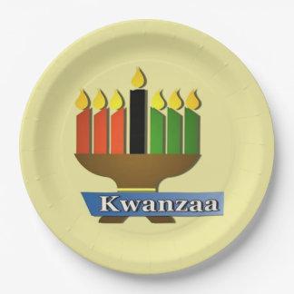Gelukkig Kwanzaa Party Paper Plates
