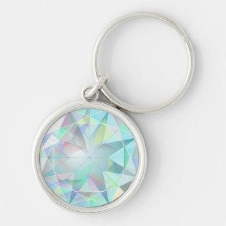 GEM-001 Shiny blue diamond Keychain