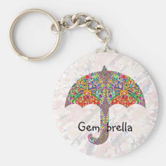 Gem - brella key chain