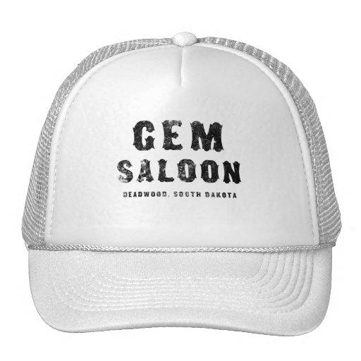GEM SALOON MESH HATS
