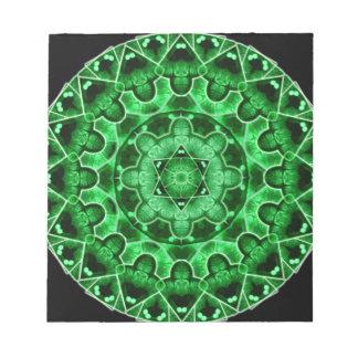Gem Star Mandala Notepad