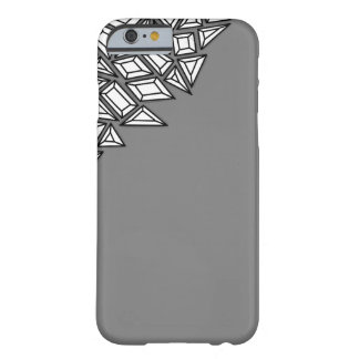 Gem-Studded Gray Barely There iPhone 6 Case