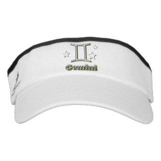 Gemini chrome symbol visor
