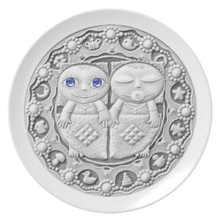 Gemini Coin plate