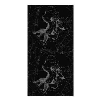 Gemini Constellation Hevelius 1690 May12-June20 Photo Greeting Card