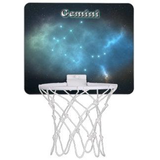 Gemini constellation mini basketball hoop