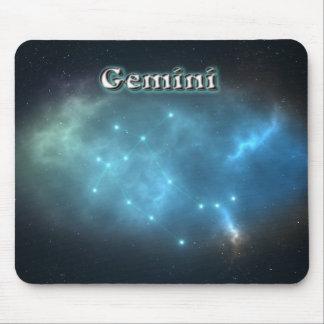 Gemini constellation mouse pad